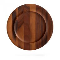 SKYE WOOD CHARGER PLATE